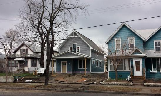 421 6th - street construction